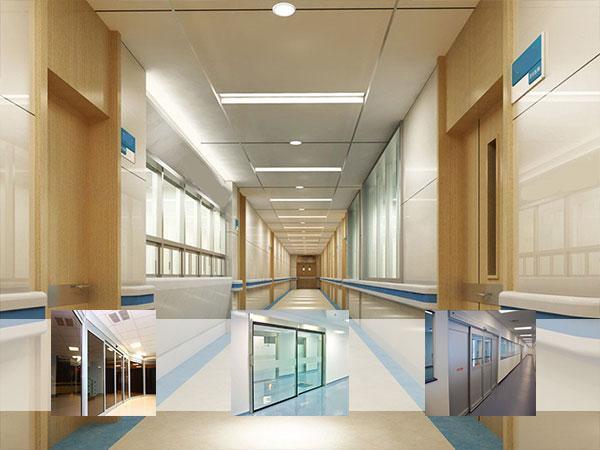 درب اتوماتیک شیشه ای بیمارستان ها